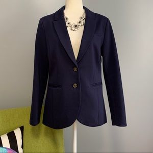 H&M Navy Blue Tailored Blazer Jacket